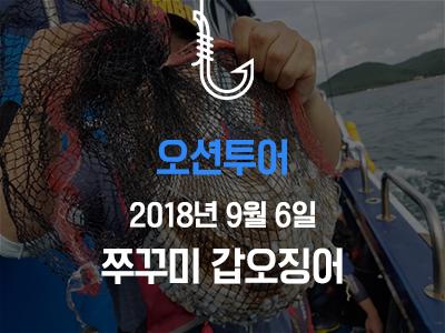 [오션투어] 쭈꾸미 갑오징어~