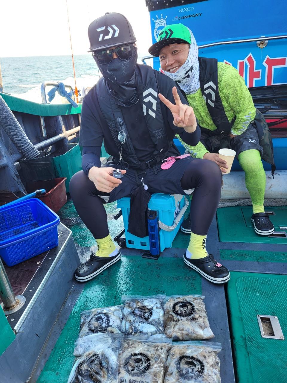 ༺ৡۣ꧁푸른바다7호꧂ۣৡ༻ 21.09.19 꺄오선장 먹물조황