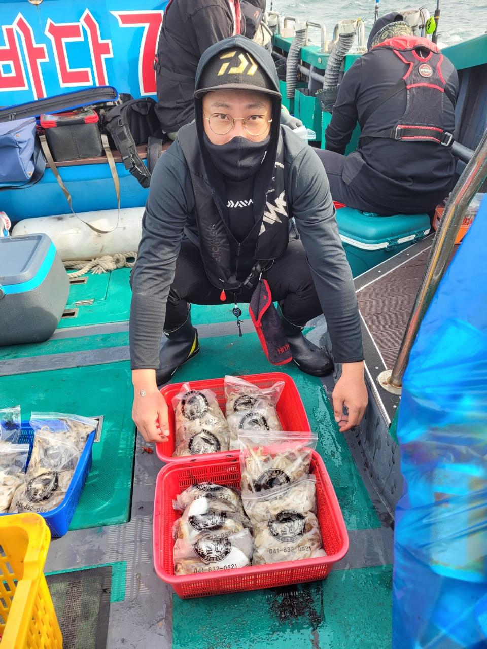 ༺ৡۣ꧁푸른바다7호꧂ۣৡ༻ 21.09.16 꺄오선장 먹물조황